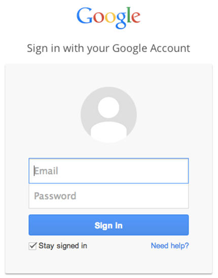 Picture of nopCommerce Social Sign in With Google